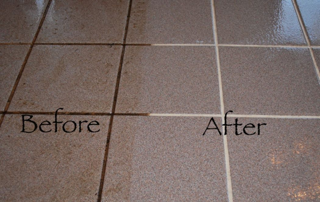 How To Clean Tile Grout Simply And Effective Cleaning Floor