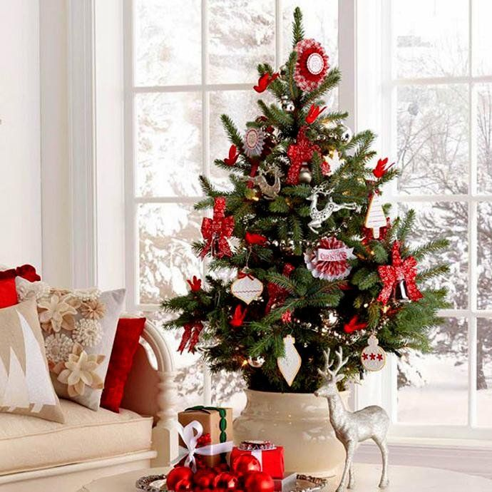 30 Ideas Para Arboles De Navidad Pequenos Ideas Para Arboles De Navidad Arboles De Navidad En Maceta Arboles De Navidad Modernos