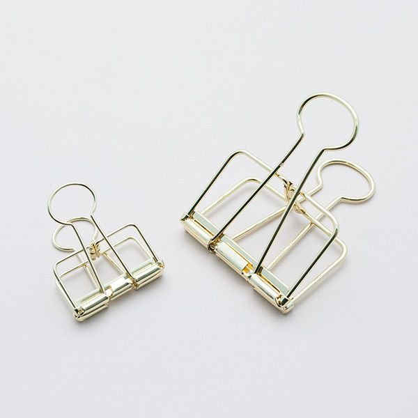 fancy office supplies. These Frame Design Gold Binder Clips Are The Perfect Way To Secure Papers, Receipts Or Anything Else You Fancy! Fancy Office Supplies