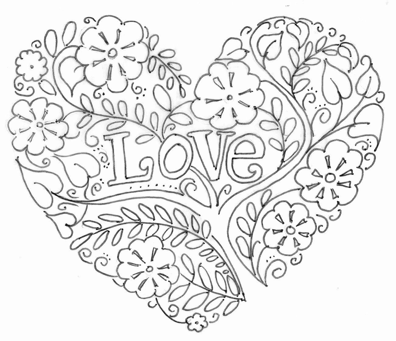 Heart Coloring Pages Crayola