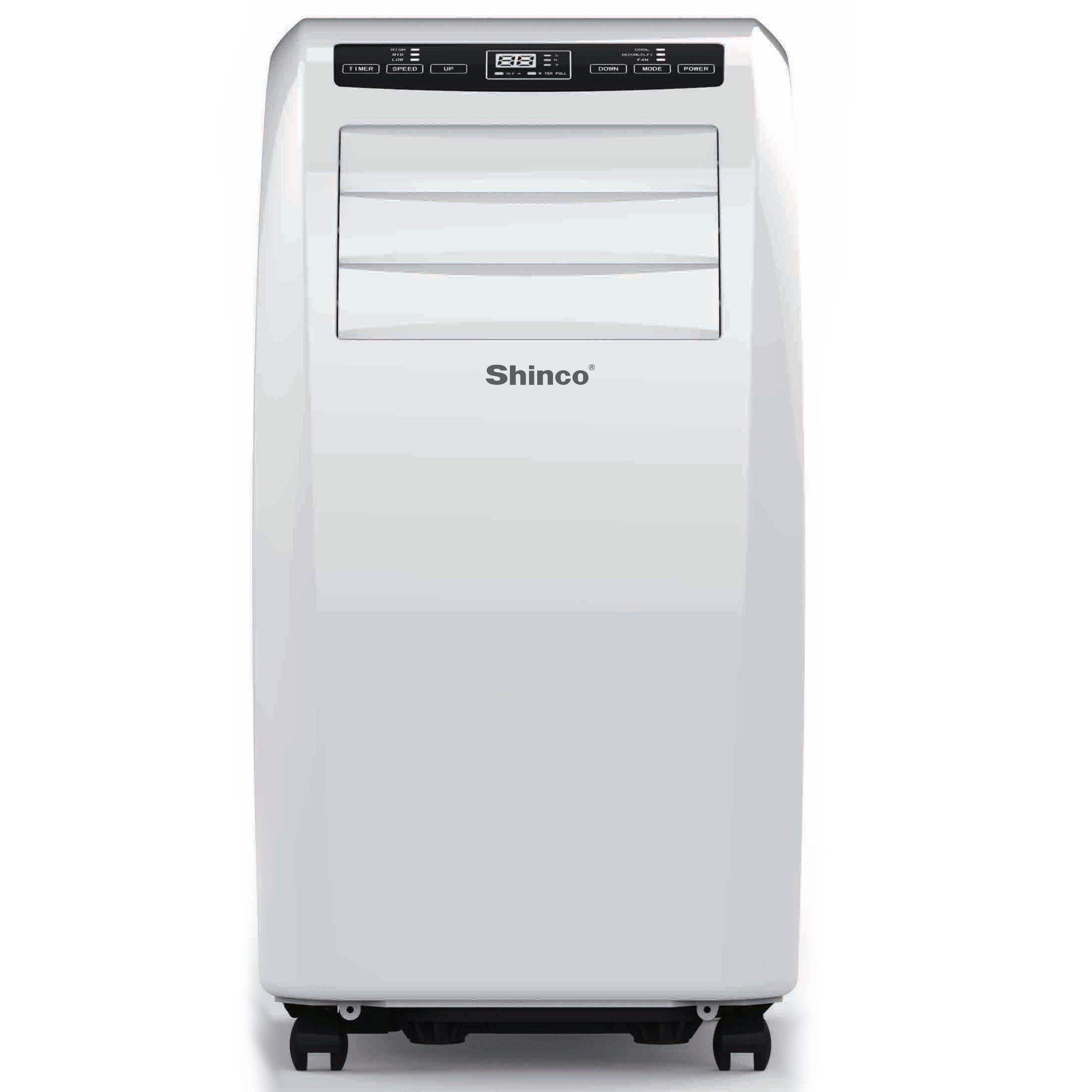shinco spae12w 12000 btu compact portable air conditioner 12000 btu