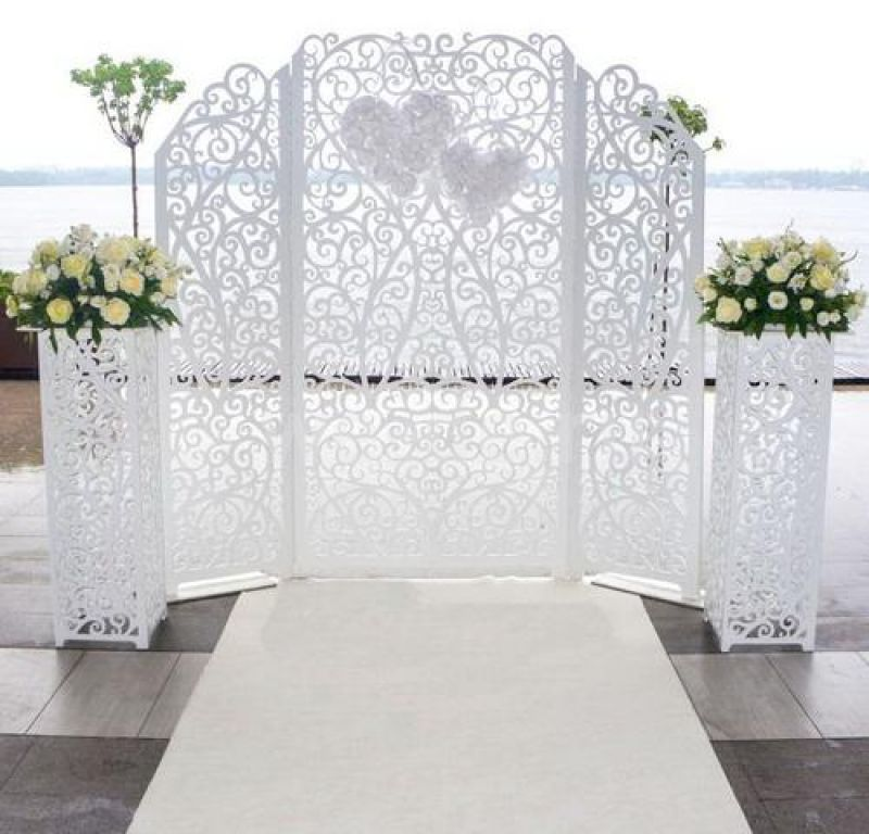 Аренда ширмы на свадьбу москва