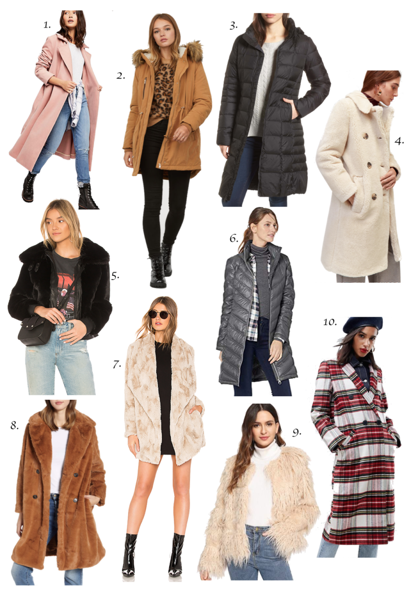 Top 10 Cozy Coats for Winter   Winter Outfits   Fall Outfits