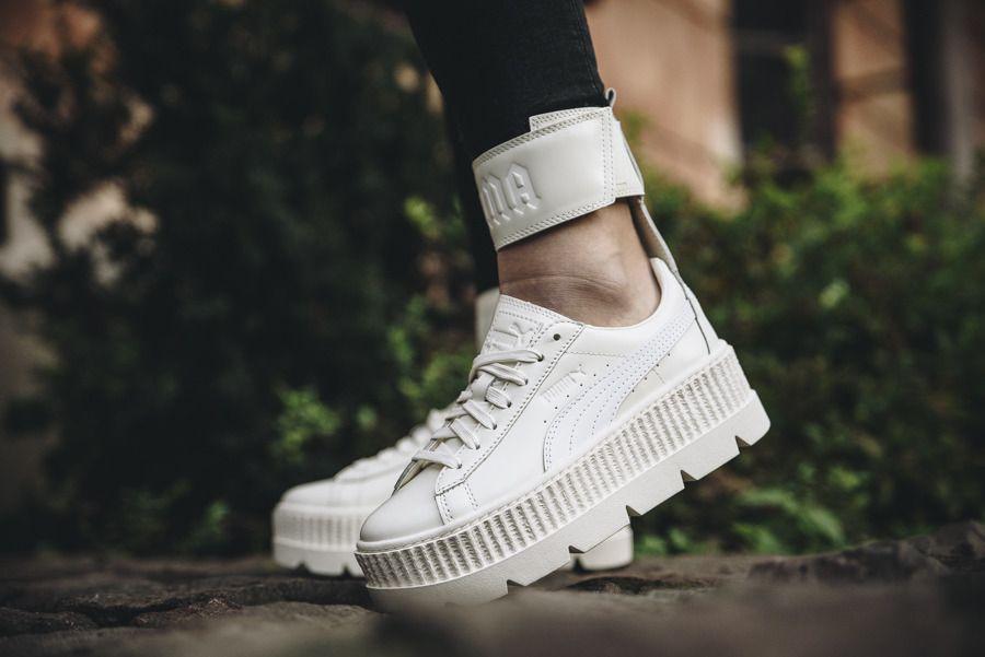 online store f7b79 d8baf Womens Shoes Sneakers Puma x Fenty Rihanna Ankle Strap ...