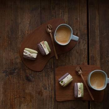 コーヒーのある生活を 人気インスタグラマーcafenoma流 うちカフェ のススメ キナリノ コーヒー カフェ 木のプレート
