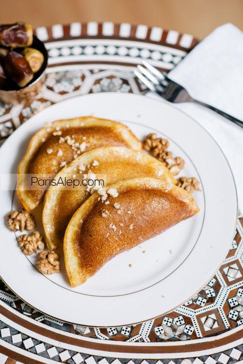 Atayef Crepes Orientales Recette De Paris Alep Cuisine
