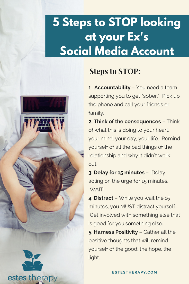 5 Steps To Stop Looking at Your Ex's Social Media Account | A