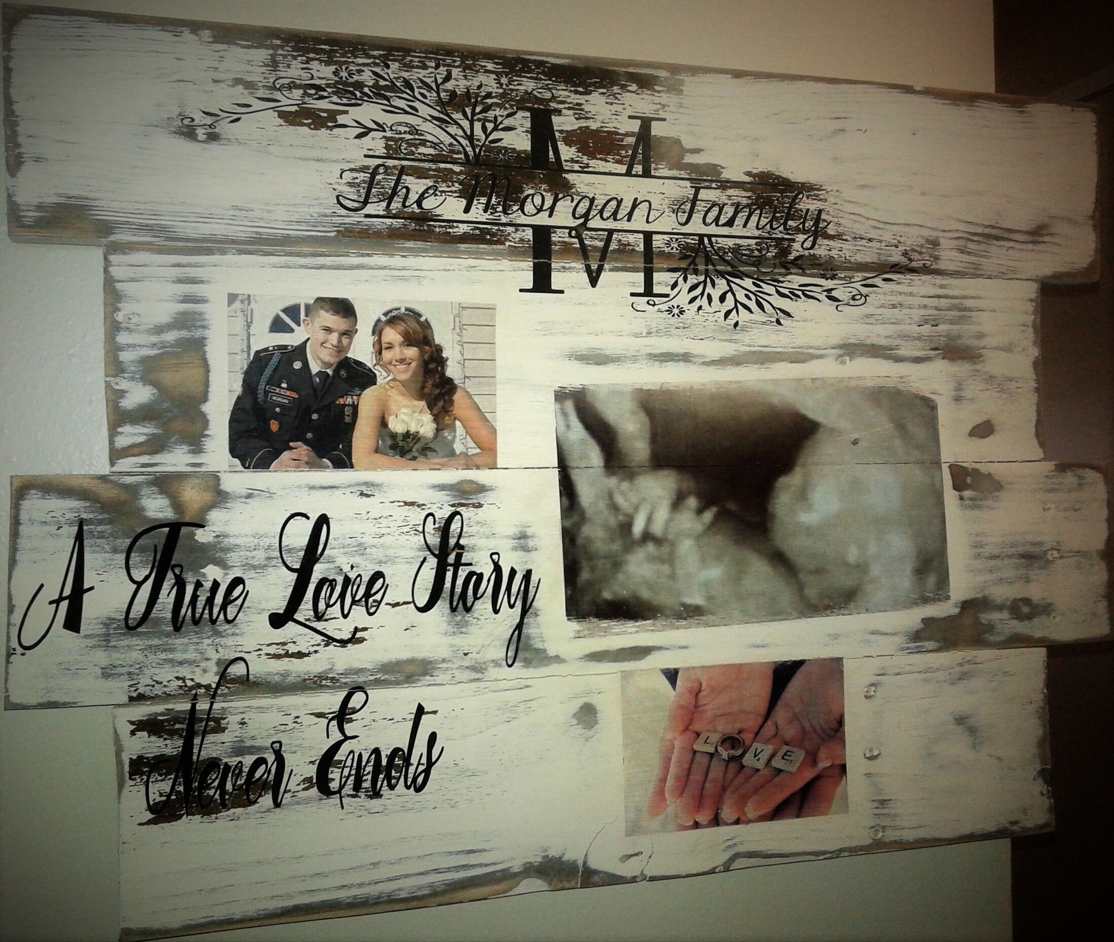 Custom made pallet signs by May Skow https//www.etsy