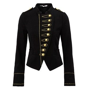 Military Jacket on Women Jackets Womens Military Style Jacket ... 6dfd102570