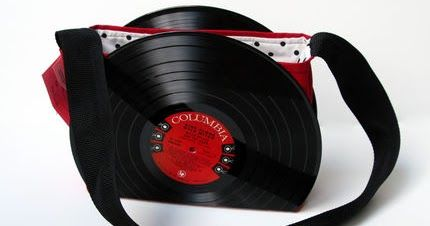 vinyl records bags bookends business card holder decors vinyl record