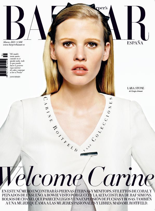 Harper's Bazaar España número 34 - Harper's Bazaar.  #Cover #Fashion #Magazine