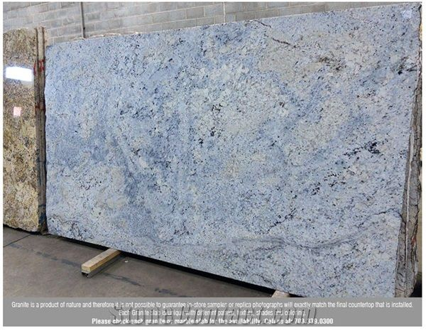 Ice Blue Granite Slab Brazil