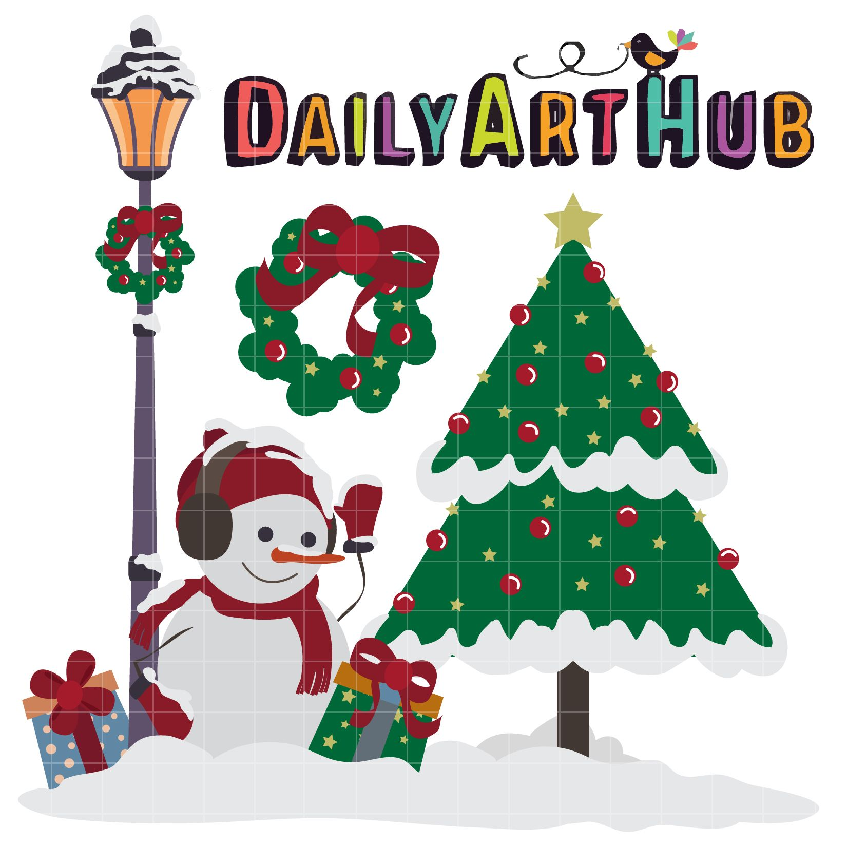 FREE Christmas Eve Clip Art Set | Daily Art Hub | Clipart and ...