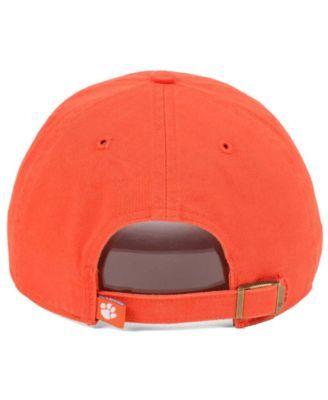 low priced 573c9 9fe5b  47 Brand Clemson Tigers Clean Up Cap - Orange Adjustable.