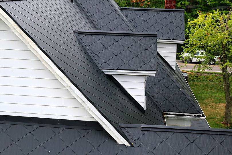 Diamond Steel Roofing Provides A Long Lasting Unique Steel Roofing Product For Small Town Home Owners And Modern Architect Steel Roofing Architecture Roofing
