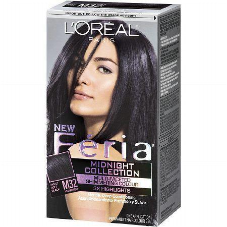 L Oreal Paris Feria Permanent Hair Color 1 0 Each Hair Color
