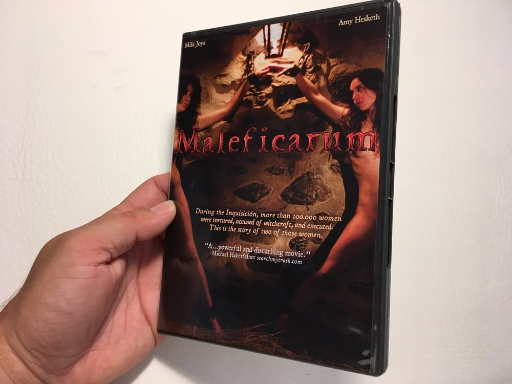 NEW Maleficarum (DVD) Horror Vermeer Works LLC Chains Subtitles ENG German