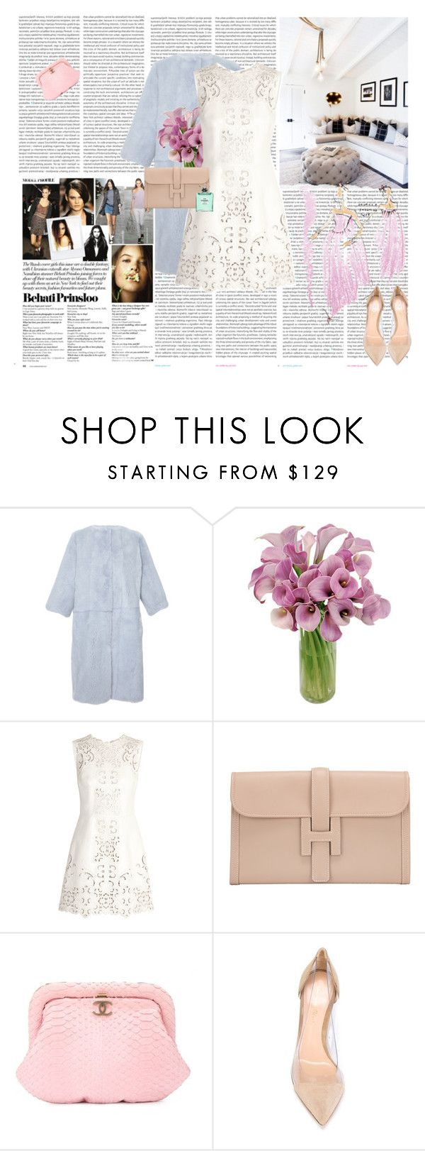 """""""Untitled #1220"""" by rikka-alicia ❤ liked on Polyvore featuring Oris, Dolce&Gabbana, Calla, Hermès, Chanel, Gianvito Rossi, Givenchy, dolceandgabbana, hermes and GianvitoRossi"""