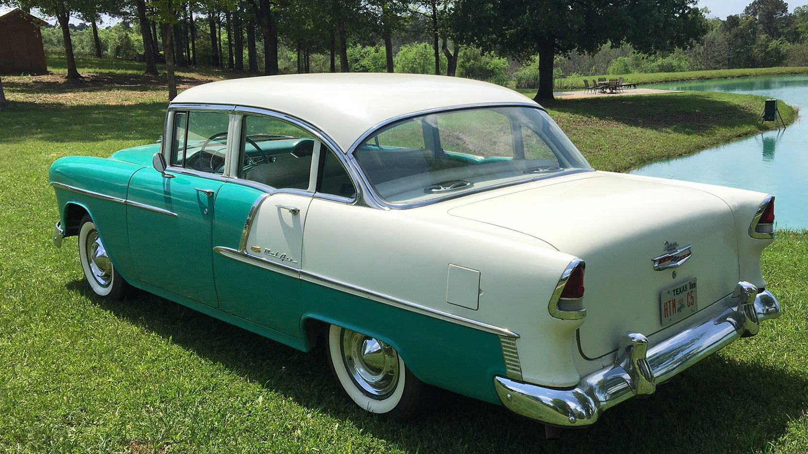 1955 Chevrolet Bel Air (With images) Chevrolet bel air