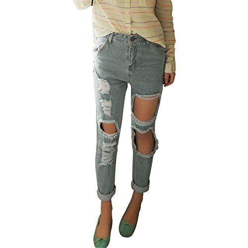 Youran Sexy High Waist Destroyed Ripped Distressed Denim Harem Pants Jeans M Youran http://www.amazon.com/dp/B00YC1VELM/ref=cm_sw_r_pi_dp_wbEzvb070YDYM