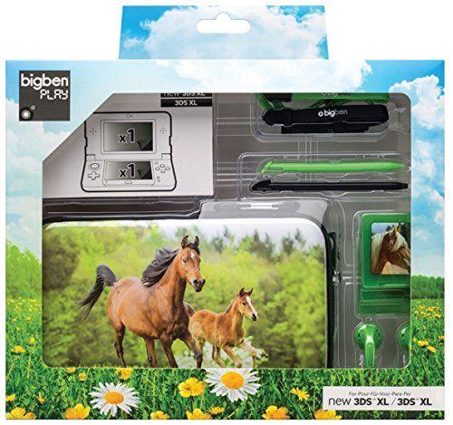 Sacoche Et Accessoires Chevaux Pour Nintendo 3dsxl New 3dsxl Accessoire Cheval Nintendo Sacoche