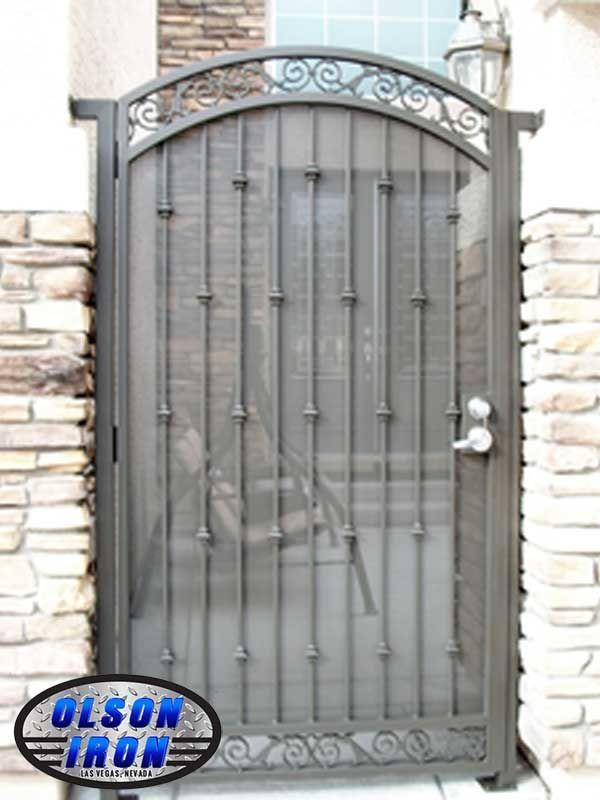 Olson Iron Gates Las Vegas Gate Specials Double Gates Wrought