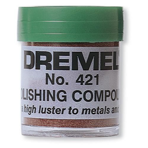 Dremel 421 Polishing Compound Dremel Dremel Polishing Dremel Accessories