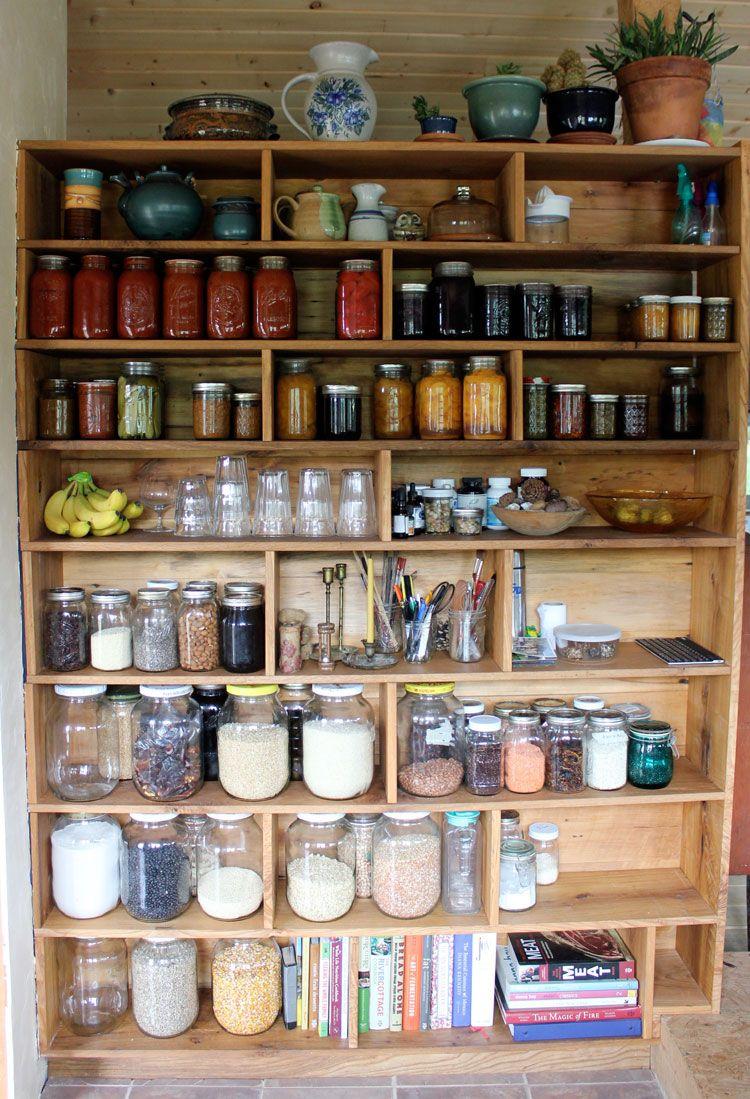homestead pantry | Almacenamiento de comida, Almacenamiento y Despensa