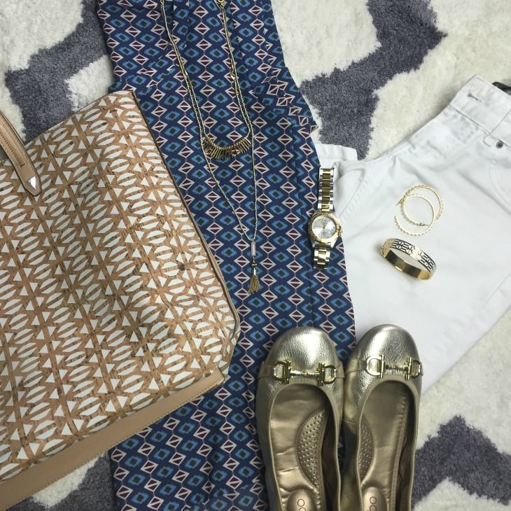 Five Ways to Wear White Jeans this Spring
