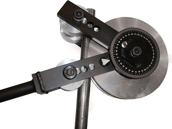 180 Degree Manual Tube Bender W Degree Wheel Ecc Roll Metal Bending Tools Metal Working Tools Custom Metal Fabrication