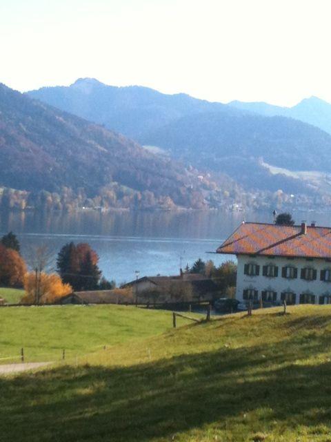 #Wanderurlaub am Tegernsee in Bad Wiessee im Herbst.