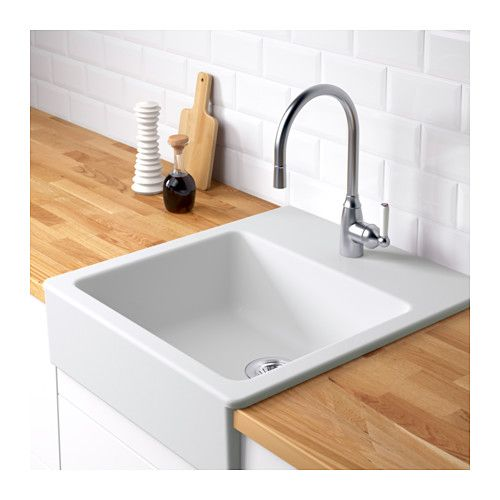 Superb Ikea Domsjo Front Apron Sink For Small Kitchen