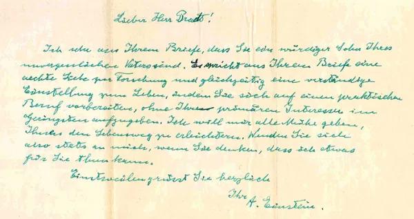 Zum Beispiel Helmut Bradt Moglichkeiten Und Grenzen Von Einsteins Humanitarer Hilfe Etheritage Einstein Humanitare Hilfe Ein Brief