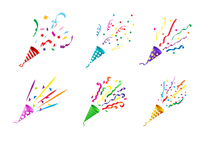 Free Party Popper Vector Events Free Download