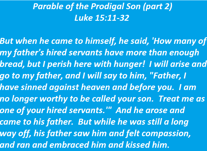 Parable of the Prodigal Son: Meaning and Elaborate Interpretation
