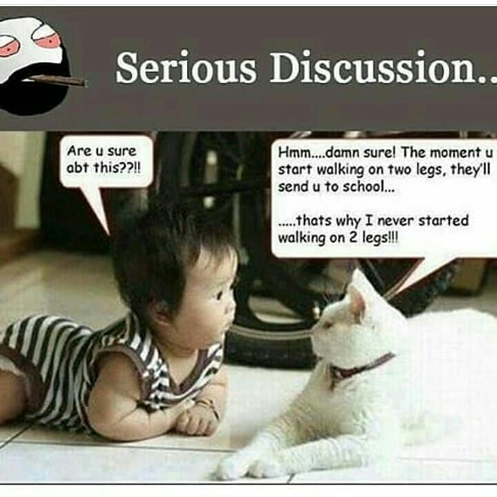 Serious Discussion....
