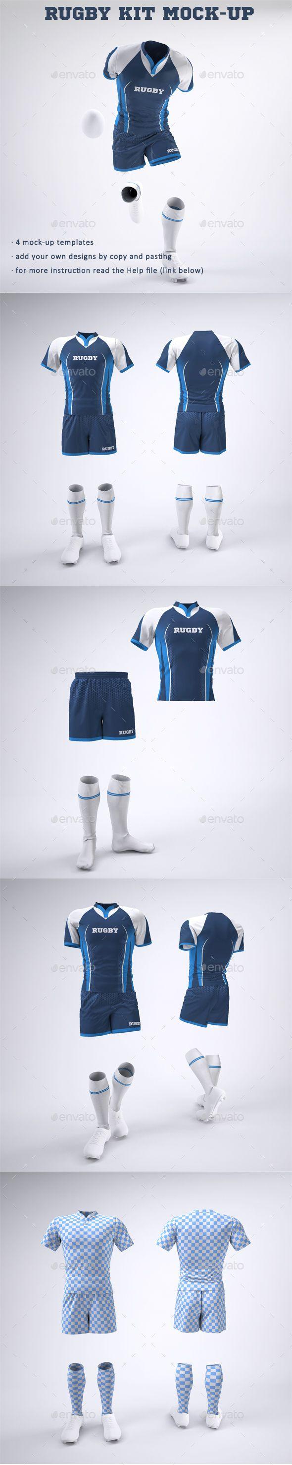 Download Rugby Team Uniform Mock Up Rugby Team Team Uniforms Clothing Mockup
