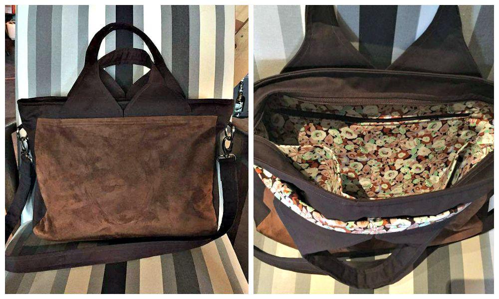 Sac Foxtrot cousu par Harmony - Patron de couture Sacôtin www.sacotin.com