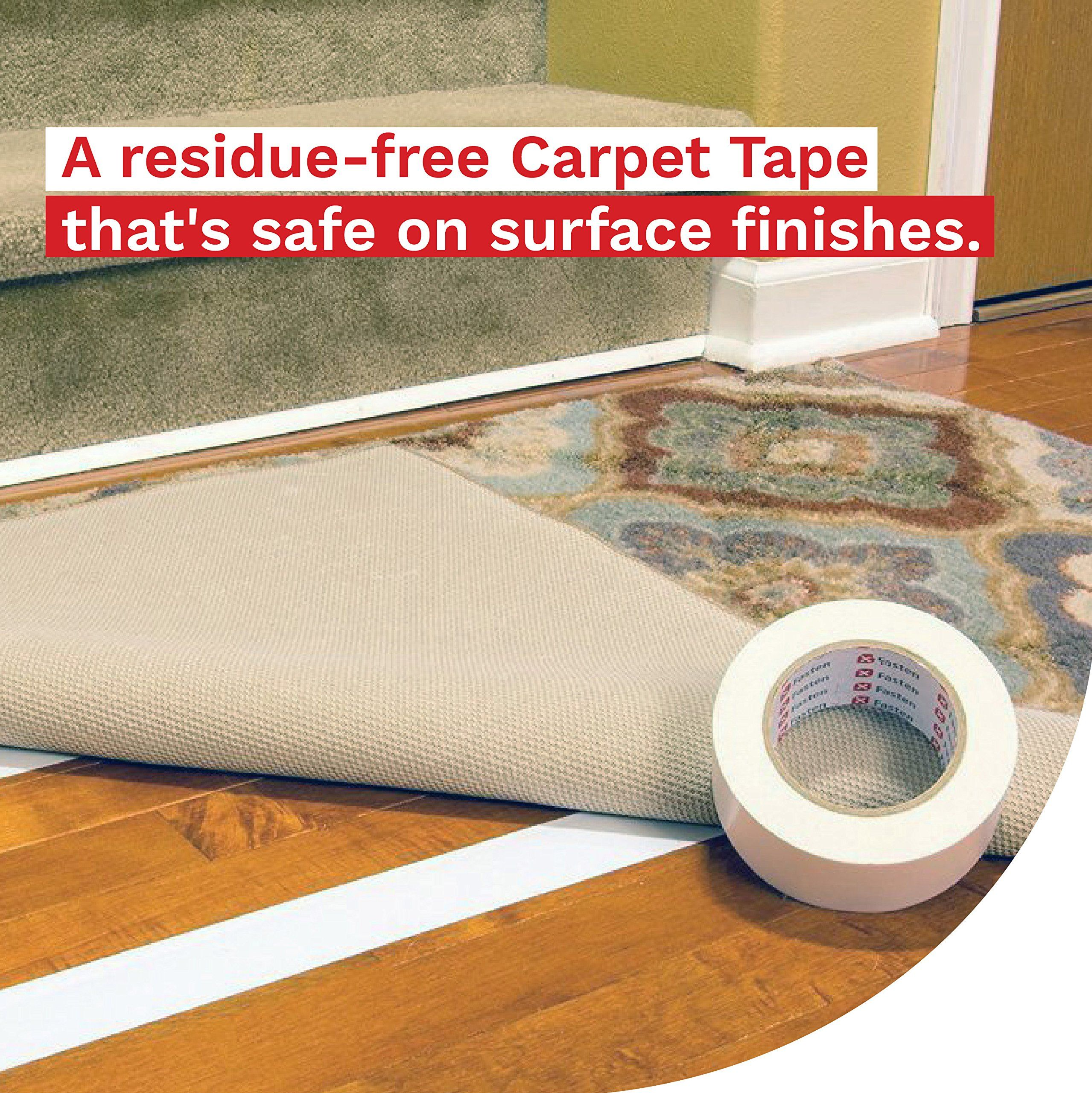 how to remove double sided tape from tiles