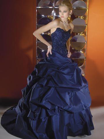 Wedding Dress: Dark Blue and Navy Blue Wedding Dress Designs ...