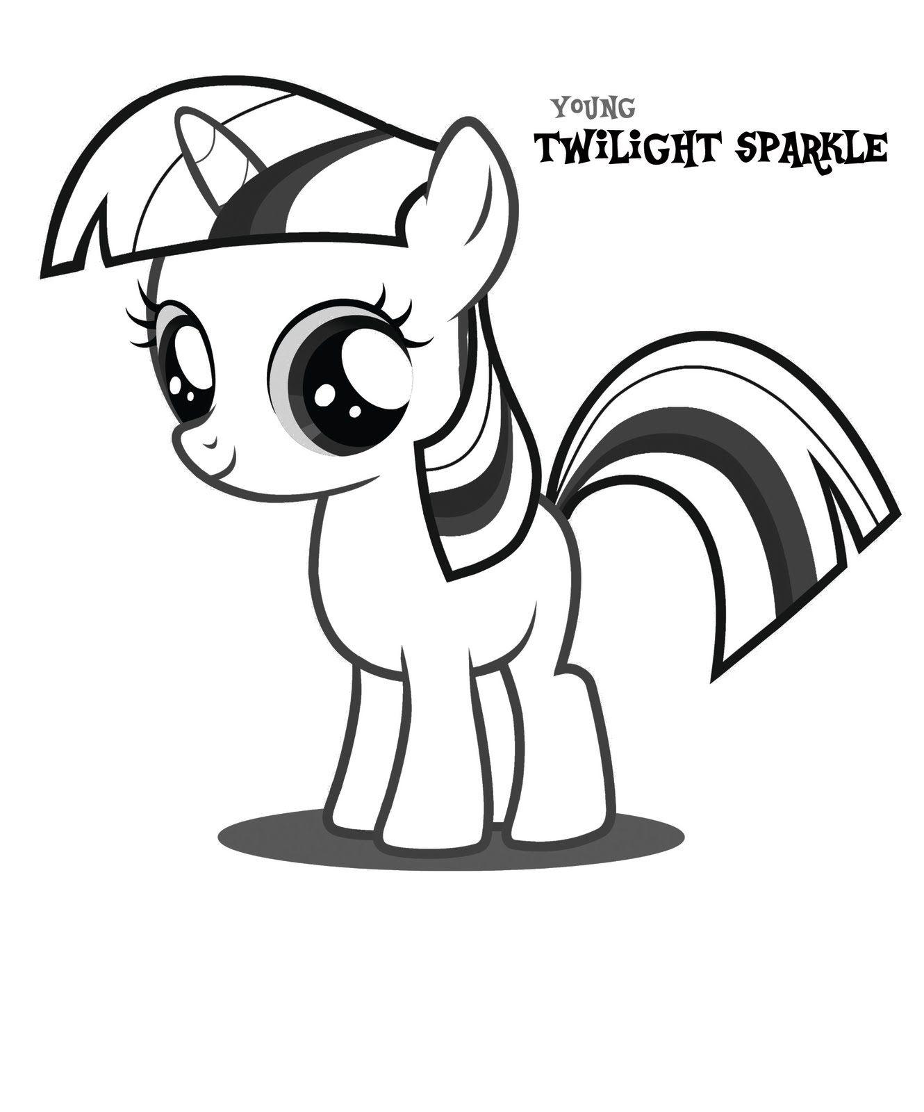 Guarda Tutti I Disegni Da Colorare Di My Little Pony