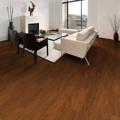 Trafficmaster Allure 6 In X 36 Teak Resilient Vinyl Plank Flooring 24 Sq Ft Case 53712 At The Home Depot
