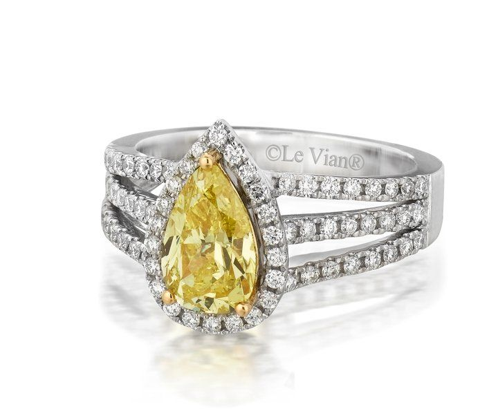 striking canary diamond engagement ring available at. Black Bedroom Furniture Sets. Home Design Ideas