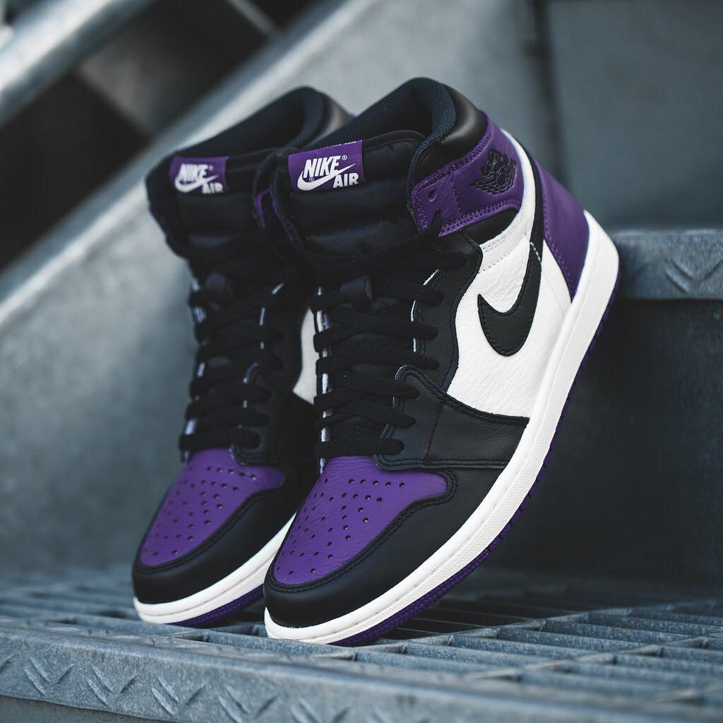 Whats Your opinion on the Jordan 1 purple Court ...-#shoes ...