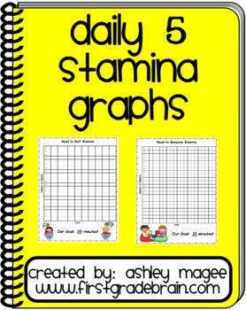 Use these Daily 5 Stamina charts to document your class's progress in building stamina for Daily 5 time. Simply record the date in the bottom box (...