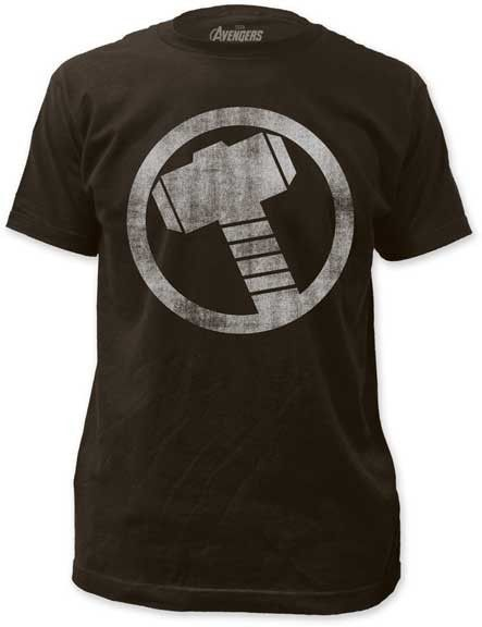 85cb8cc1045a0 Thor distressed icon mens lightweight tee in 2019 | Marvel Style ...