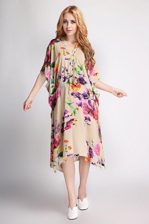 Designer hospital gowns khaki kaftan dress Plus size by uBride ...