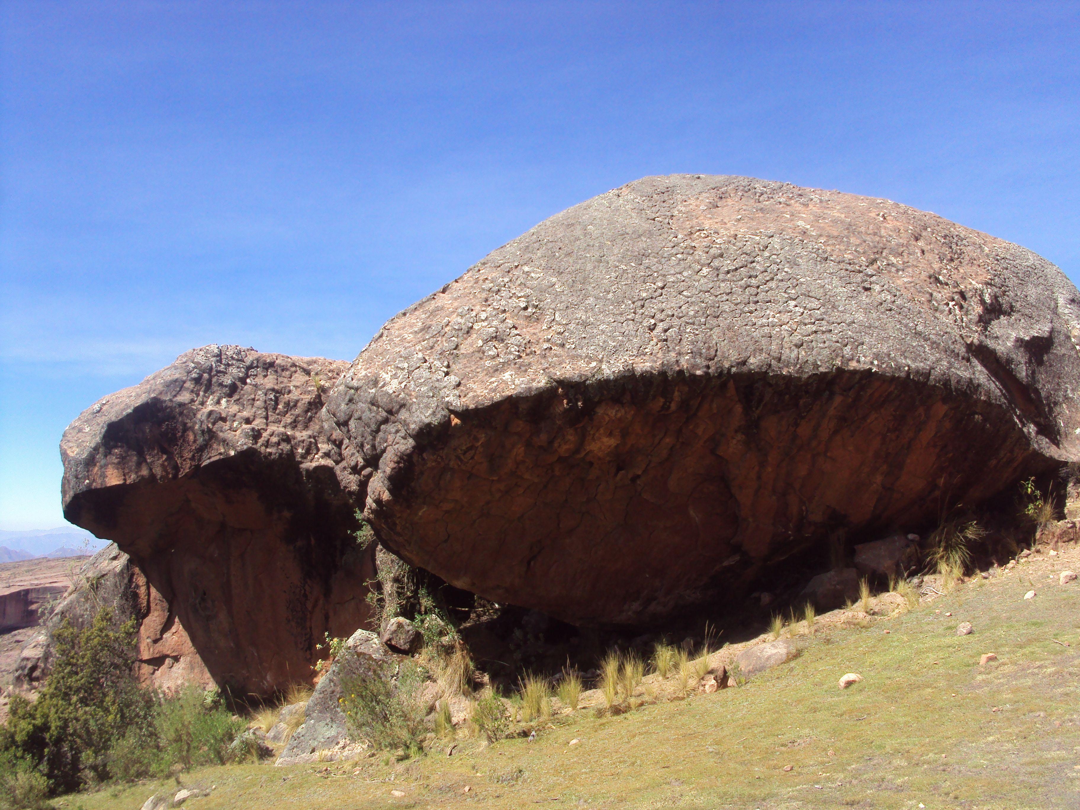 Roca de la Tortuga Parque Nacional de Torotoro, Bolivia.