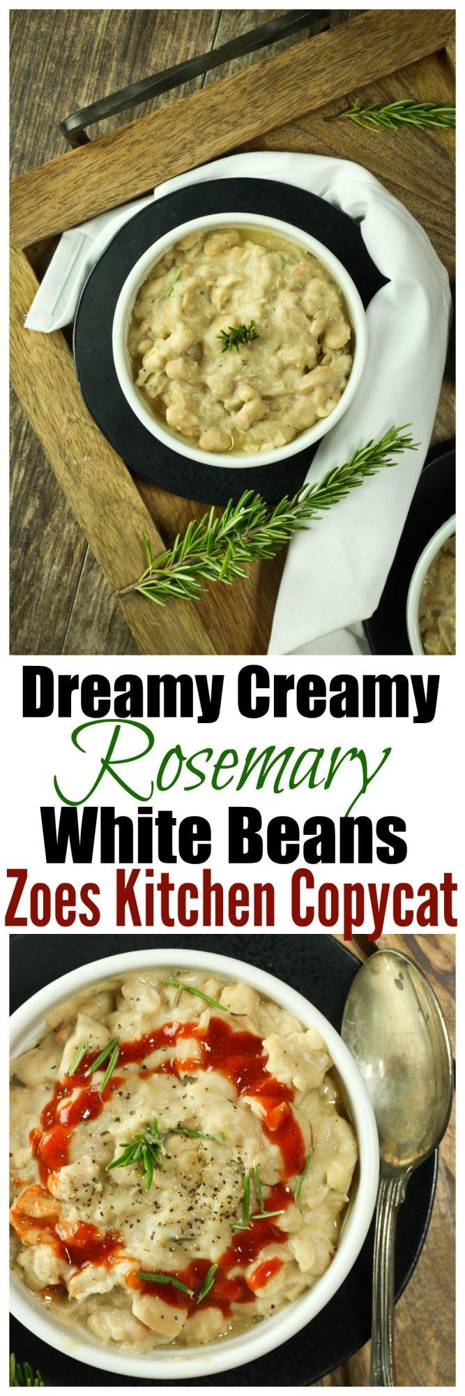 Vegan Smoky Rosemary White Beans Recipe Vegan Side