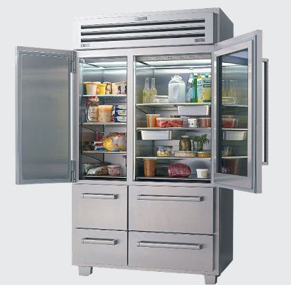 Wolf Subzero fridge= $10K+!!! | fridge | Pinterest | Glass doors ...